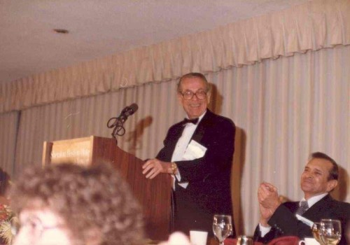 Stan Lopata, 1st NACE Endowment  Chairman & award winner, Boston 1985