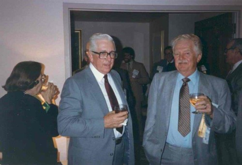 Woody Backensto, Past President and Walt Boyd, Past President