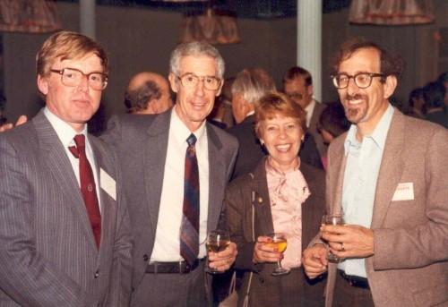 Walt & Cecile Poff, Bernie Appleman