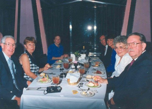 Dinner at the NACE Annual Banquet, 1990s